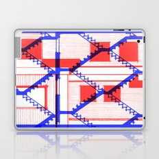 Red and blue Laptop & iPad Skin