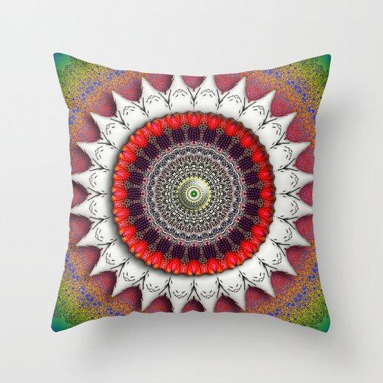 Moonflower Throw Pillow