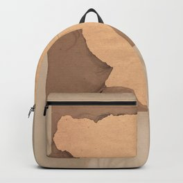 Paper portrait Backpack