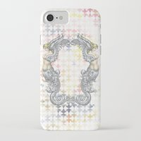 angels iPhone & iPod Cases featuring Angels by FakeFred