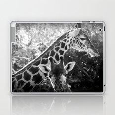 two giraffes Laptop & iPad Skin