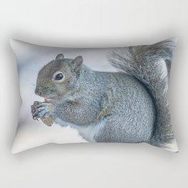 Winter squirrel Rectangular Pillow