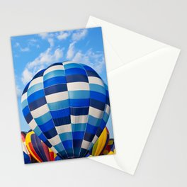 Vibrant Hot Air Balloons Stationery Cards