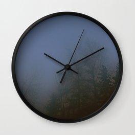 Misty Woods Wall Clock