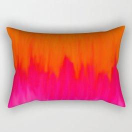 Bursting with Color Rectangular Pillow