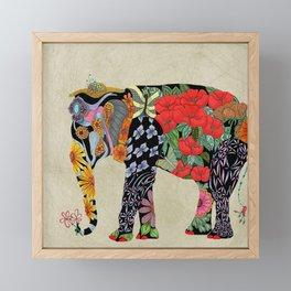 Ms. Ele Phant Framed Mini Art Print