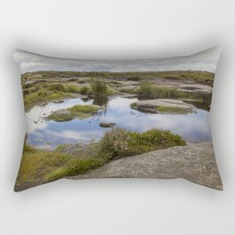 Pool At The Top Of The World Rectangular Pillow