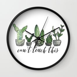 Can't Touch This Wall Clock