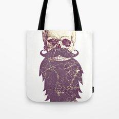 Beard Skull 3 Tote Bag