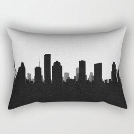 City Skylines: Houston Rectangular Pillow