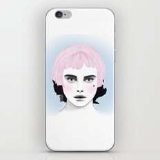 Fashion Illustration - Chanel Pink iPhone & iPod Skin