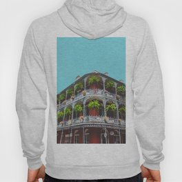 Hanging Baskets of Royal Street, New Orleans Hoody