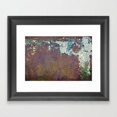 Paint mosaic Framed Art Print