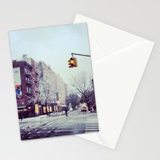 First Snow In The City Stationery Cards