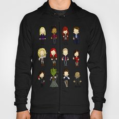 Doctors Companions and friends Hoody