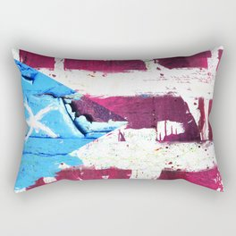 Puerto Rico Flag Rectangular Pillow
