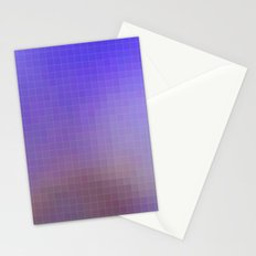 Pixel Purple Stationery Cards