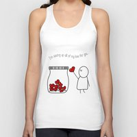 I'm Saving Up All My Love For You! Unisex Tank Top