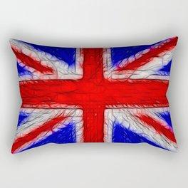 Union Jack Flag Fratilius Rectangular Pillow