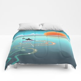 Exploring Crystal Cove Comforters