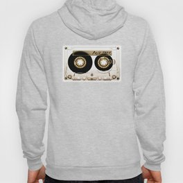 Transparant mix tape Retro Cassette Hoody