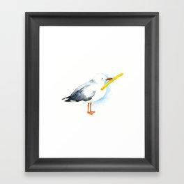 Seagull - Natural Born Lovers Framed Art Print