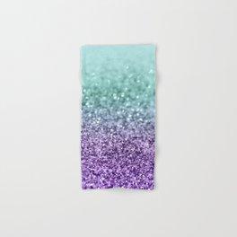 Mermaid Girls Glitter #9 #shiny #decor #art #society6 Hand & Bath Towel
