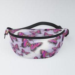 Butterflies African Kente Cloth Inspired Fanny Pack