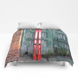 Vintage Skis - Fischer Silverglass Comforters