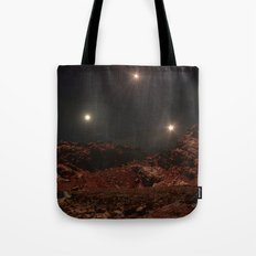Last Night of the Triple Sun Tote Bag