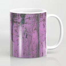 Purple Country Faux Barn Wood Mug