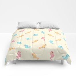 Pygmy seahorses Comforters