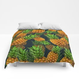 Pineapple Party Comforters