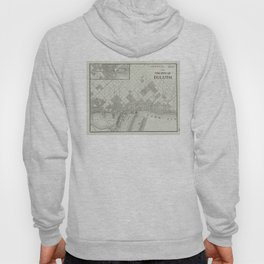 Vintage Map of Duluth MN (1901) Hoody