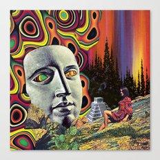 Return of Quetzalcoatl Canvas Print