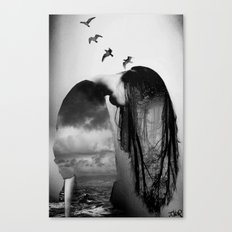 and freedom... Canvas Print