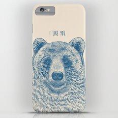 Bear (Ivory) iPhone 6 Plus Slim Case
