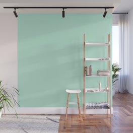 Mint Green Wall Mural