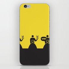 WTF? Peluqueria! iPhone & iPod Skin