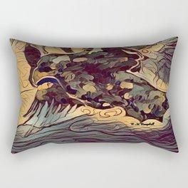 """"""" The Hunt """" Rectangular Pillow"""