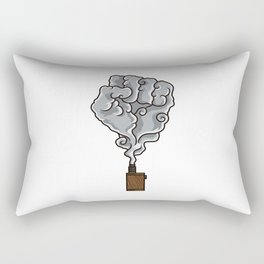 Vaping Fist Illustration | Cloud Chaser Unite Vape Rectangular Pillow