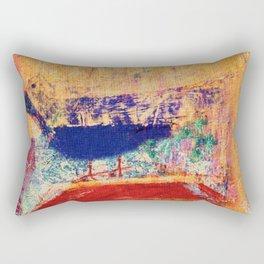Uccello Azzurro Rectangular Pillow