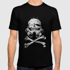 STORM PIRATE Black Mens Fitted Tee X-LARGE