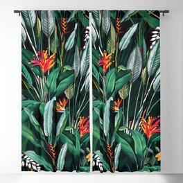 Midnight Garden V Blackout Curtain