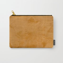 Tuscan Orange Stucco Carry-All Pouch