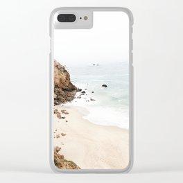 Malibu California Beach Clear iPhone Case