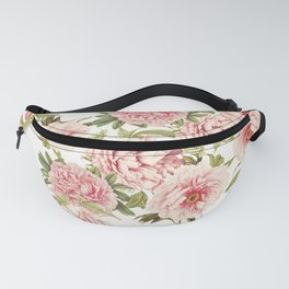 old fashioned peonies Fanny Pack