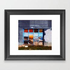 Garage Framed Art Print