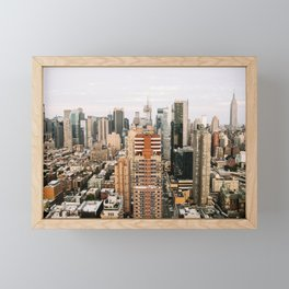 My Empire - NYC Framed Mini Art Print