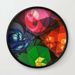 Elementals (series) Wall Clock